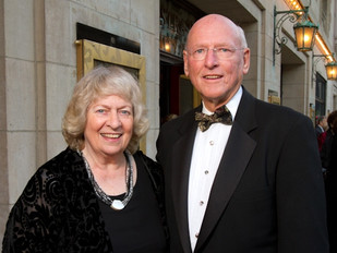 JIM AND KAY MABIE HONORED BY THE ARTS ALLIANCE ILLINOIS