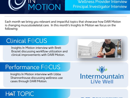 Insights In Motion - The DARI Newsletter Is Here!