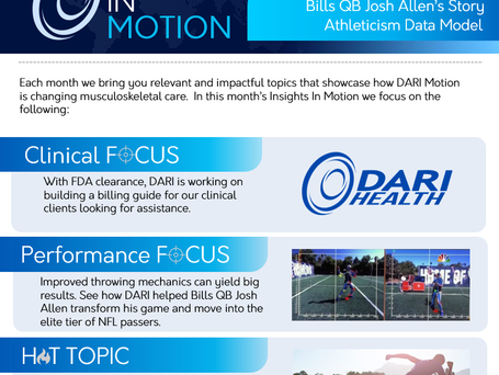 Insights In Motion - The December DARI Newsletter Is Here!