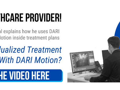 Snehal Patel PT, MPT, SCS : Explains how to individualize treatment plans with DARI Motion.