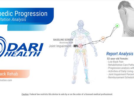 DARI Health: Case Study - Low Back Pain Rehabilitation Progression