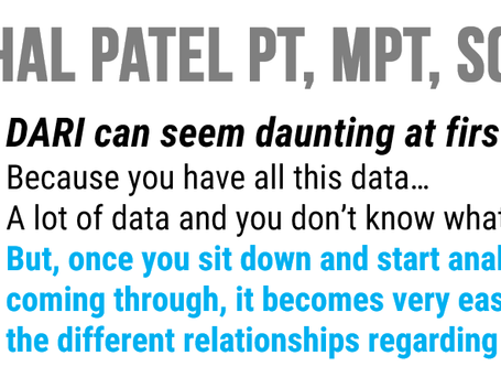 Snehal Patel PT, MPT, SCS : Upcoming video on the clinical application of DARI Motion