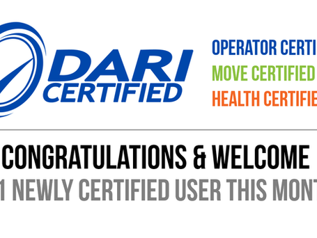 Shout Out! Congratulations & Welcome to 41 Newly Certified DARI Users