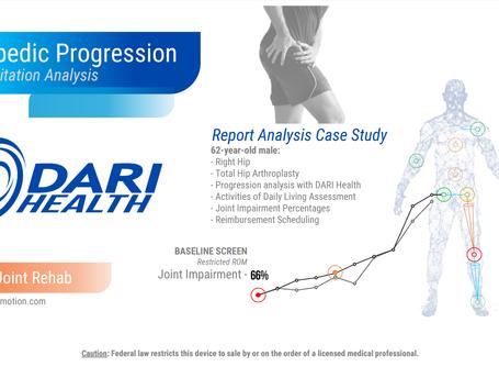 DARI Health: Case Study - Hip Arthroplasty Rehabilitation Progression