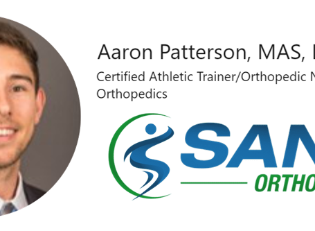 Shout Out! Aaron Patterson at SANO Orthopedics