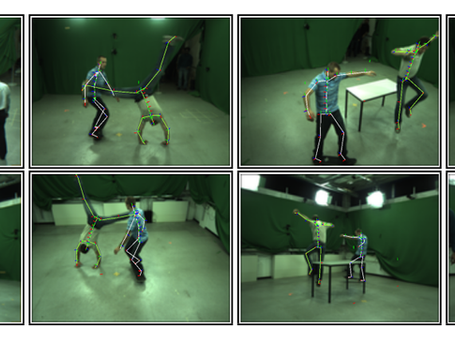 Research Study: Spatio-temporal Motion Tracking with Unsynchronized Cameras