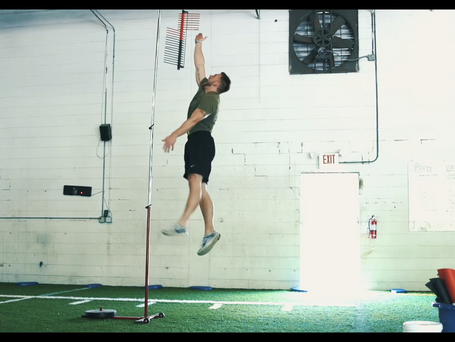 Vertical Jump - Calculating True Jump Height