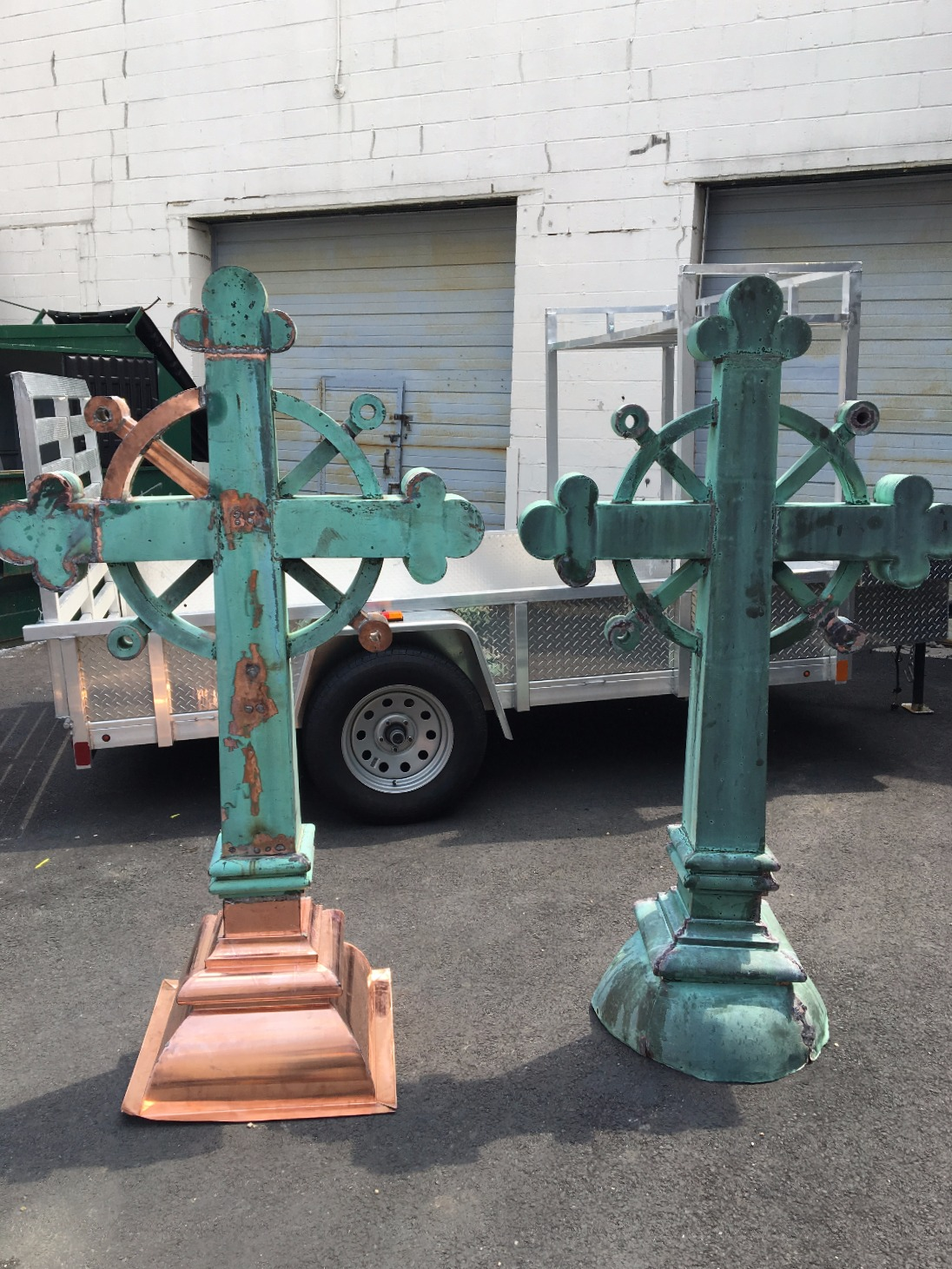 Copper Cross Restoration