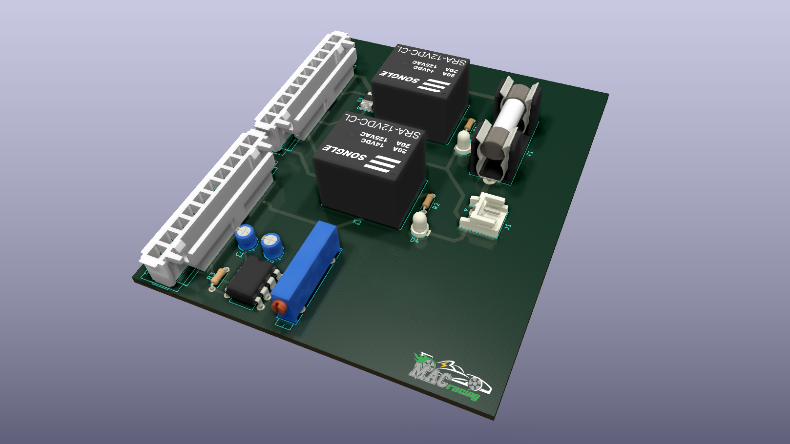 Low Voltage Power Control Board