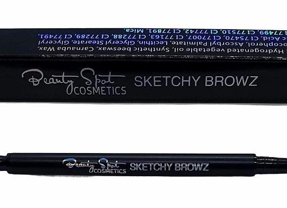 Sketchy Browz ~ Dark Brown (5)