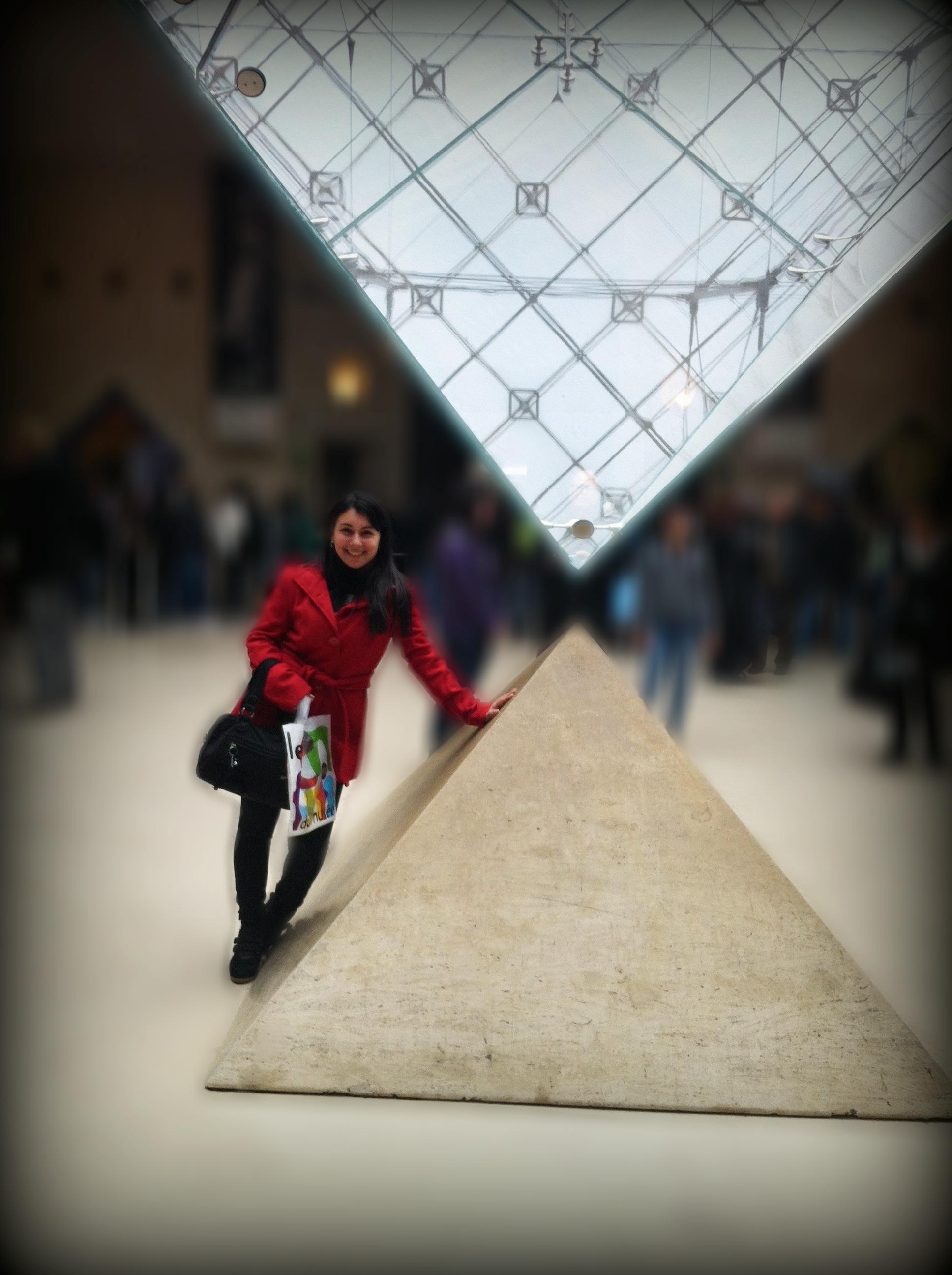 Ieoh Ming Pei: La Pyramide Inversée, 1989. Museu do Louvre.