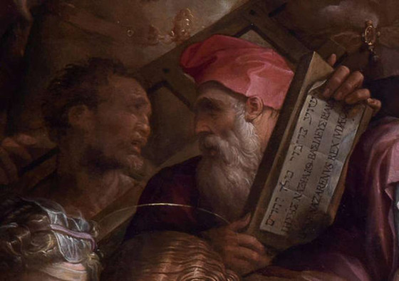 Rosto de Michelangelo é encontrado após restauro