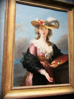 Élisabeth Louise Vigée Le Brun: Self-portrait in a Straw Hat, 1782. The National Gallery, Londres.