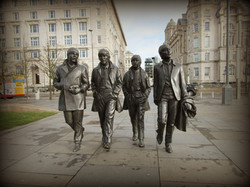 Andy Edwards: The Beatles, 2015. Bronze. Liverpool.