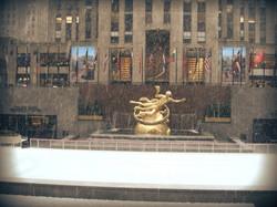 Paul Manship: Prometheus,1934. Bronze. Nova York.