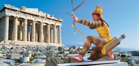 Uma surpresa das esculturas gregas!