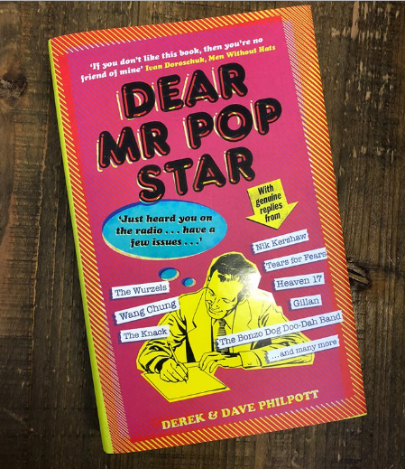 REVIEW: Dear Mr Pop Star by Derek & Dave Philpott (Unbound, 2018)