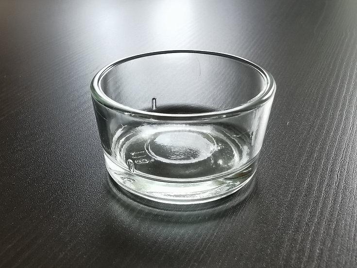 Teelichtglas für unsere und andere handelsübliche Teelichter