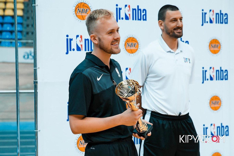 Attending the Jr. NBA Finals in Astana,