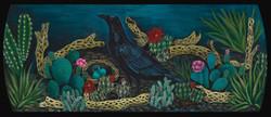 """""""Black Bird"""" 34 x 16"""