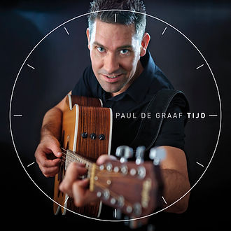 Paul de Graaf album Tijd cover