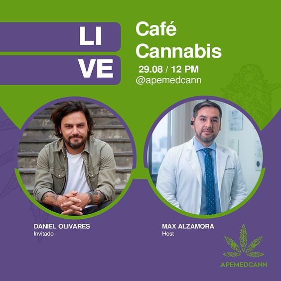 Café Cannabis con Daniel Olivares