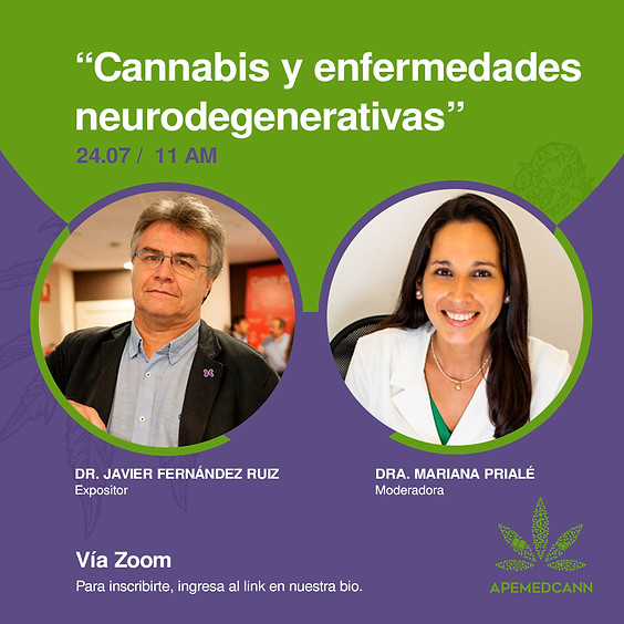 "Webinar ""Cannabis y enfermedades neurodegenerativas"""