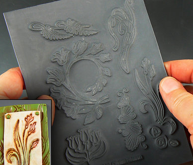 """""""Art Nouveau"""" texture stamp"""