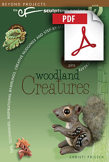 """Woodland Creatures"" DOWNLOADABLE eBook PDF"