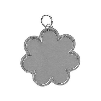 Flower Bezel - Silver