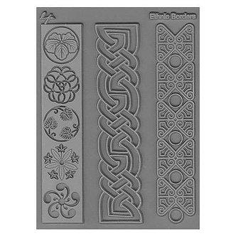 Ethnic Borders Texture Stamp