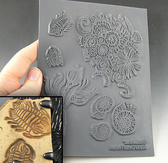 """Fossilicious"" texture stamp"