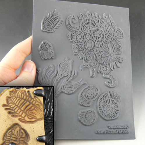 """""""Fossilicious"""" texture stamp"""