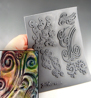 """""""Swirlys"""" texture stamp"""