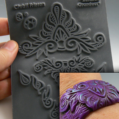 """""""Relaxed Grandeur"""" texture stamp"""