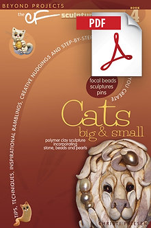 """Cats Big and Small"" DOWNLOADABLE eBook PDF"