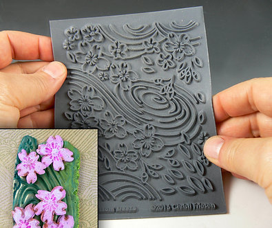 """Cherry Blossom"" texture stamp"