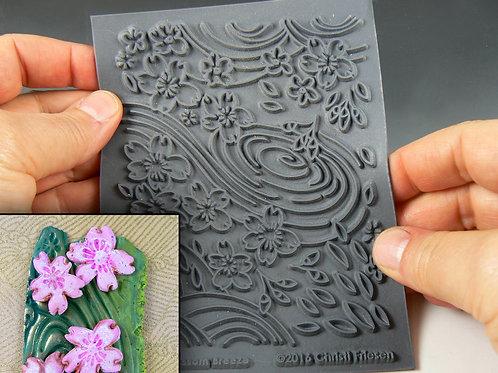 """Cherry Blossom"" texture stamp"