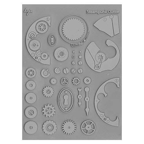 Steampunk Outtie Texture Stamp