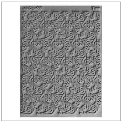 Fleur Texture Stamp