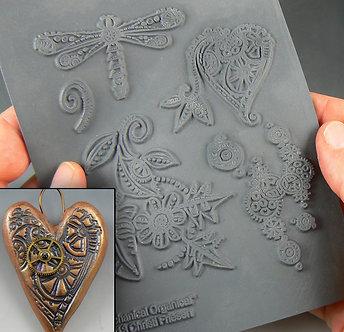 """Mechanical Organical"" texture stamp"