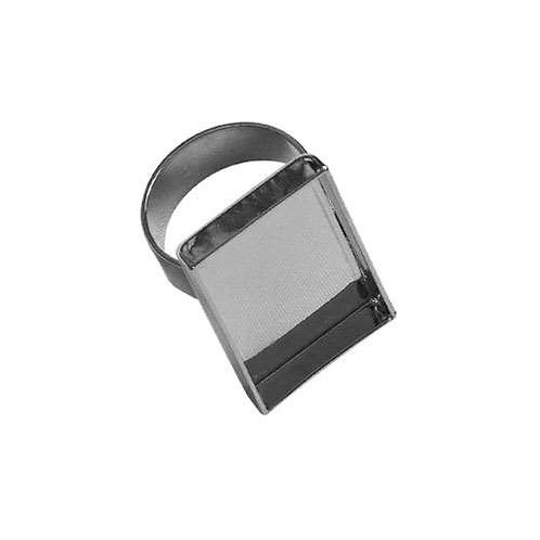 Rectangle Ring - Silver
