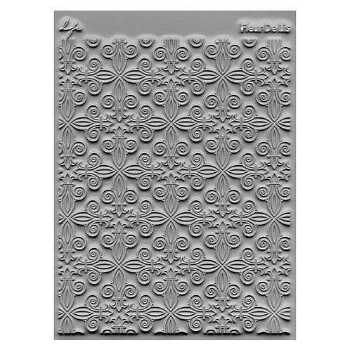 Fleur De Lis Texture Stamp