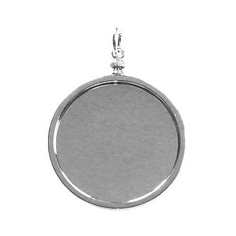 Pocket Watch Bezel - Silver