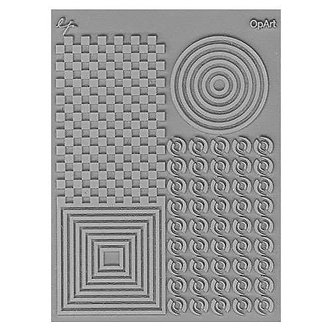 OpArt Texture Stamp