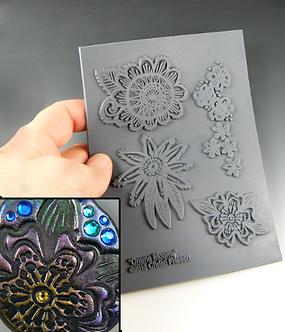"""Drama Bloom"" texture stamp"