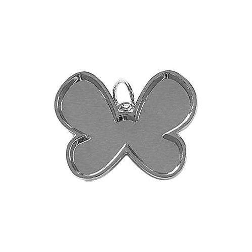 Butterfly Bezel - Silver