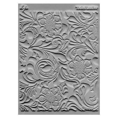 Tooled Leather Texture Stamp
