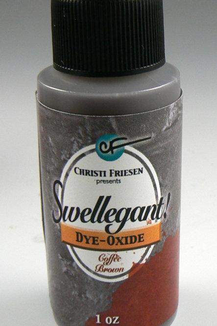 Coffee Brown Swellegant Dye Oxide 1oz