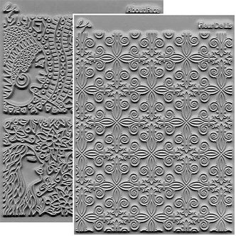 Adornments Texture Stamp Set